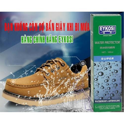 Chai xịt chống ướt giầy dép, vật dụng tự tin đi mưa