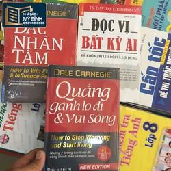 Combo - 3 cuốn Đắc nhân tâm, quẳng gánh lo.., đọc vị bất kỳ ai