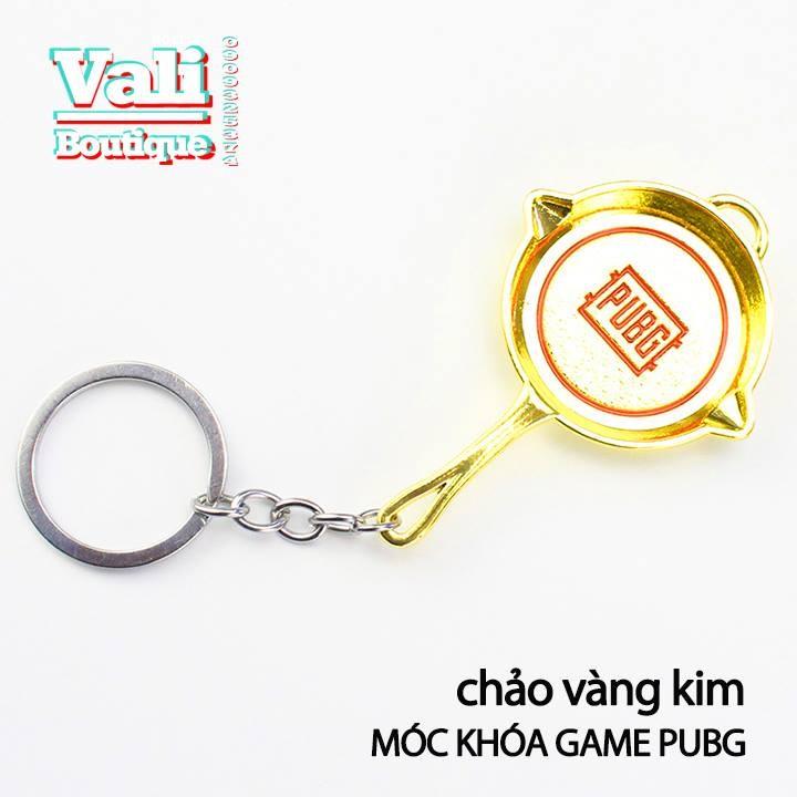 Móc khóa mô hình trong game PUBG - chảo vàng