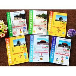 Trọn bộ 6 cuốn Giáo Trình Hán Ngữ- Sách học Tiếng Trung Phiên Bản Mới