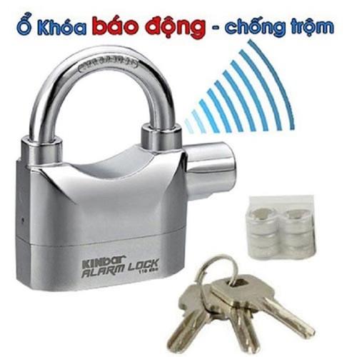 Free ship ổ khóa chống trộm có còi báo bộng