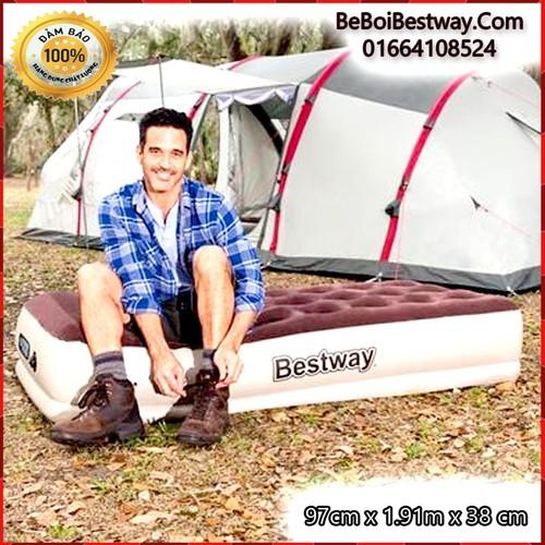 Nệm Hơi Cao Câp Bestway Pavillo - 97cm x 1.91m x 38 cm - Bestway 67572