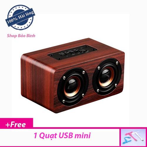 Loa bluetooth vỏ gỗ w5 công nghệ hifi âm bass mạnh mẽ - 12020268 , 19628086 , 15_19628086 , 380000 , Loa-bluetooth-vo-go-w5-cong-nghe-hifi-am-bass-manh-me-15_19628086 , sendo.vn , Loa bluetooth vỏ gỗ w5 công nghệ hifi âm bass mạnh mẽ