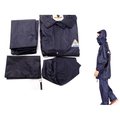 Bộ Áo Nón Quần vải dù đi mưa không sợ ướt có túi để đồ nhỏ
