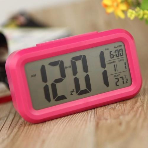 Đồng Hồ để bàn nhỏ gọn, xem giờ, nhiệt độ, ngày tháng