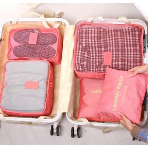 Combo 6 món túi đựng quần áo phong cách Hàn xếp gọn