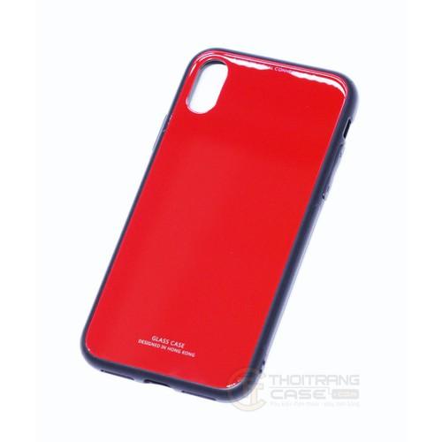 Ốp Lưng gương mặt sau cường lực 9H CHO Iphone X