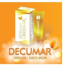 Siêu bộ đôi sữa rửa mặt Decumar 100ml - kem nghệ nano Decumar