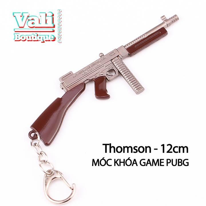Móc khóa mô hình trong game PUBG - Thomson