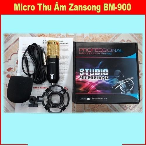 Micro thu âm BM 900 và sound card V8 Tiếng Anh - Việt dễ sử dụng 5