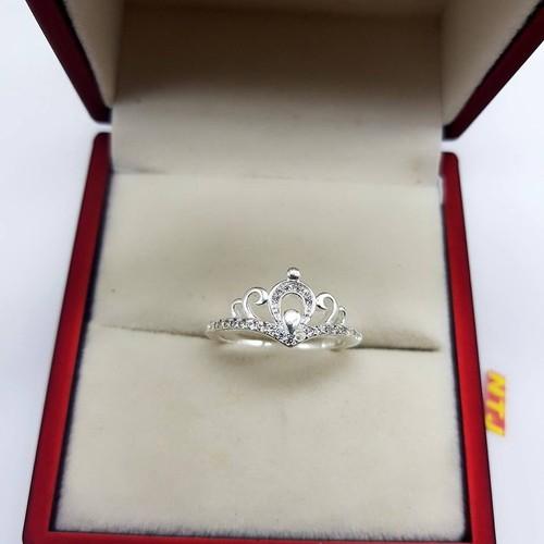 nhẫn bạc nữ hình vương miện - 5138113 , 11434179 , 15_11434179 , 235000 , nhan-bac-nu-hinh-vuong-mien-15_11434179 , sendo.vn , nhẫn bạc nữ hình vương miện