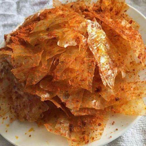 500g bánh tráng trộn sa tế tỏi khô bò cực ngon, ăn là nghiền