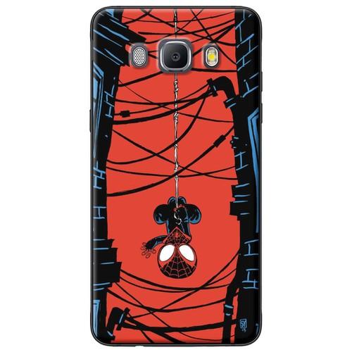 Ốp lưng nhựa dẻo Samsung J7 2016 Chibi Người nhện