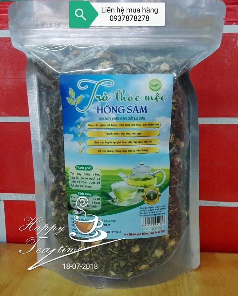 Tra Hong Sam Tam Duc 450gr