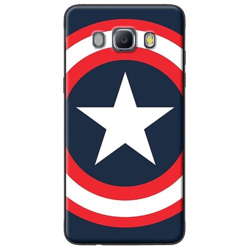 Ốp lưng nhựa dẻo Samsung J7 2016 Biểu tượng Captain America