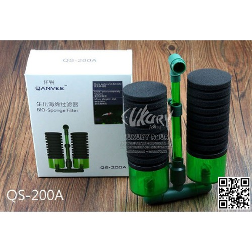 Lọc sủi hơi vi sinh Qanvee QS-200A