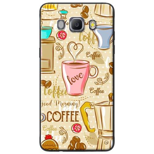 Ốp lưng nhựa dẻo Samsung J7 2016 Love coffee