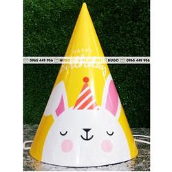 Mũ sinh nhật giá rẻ nhiều chủ đề set 5c 15.000đ
