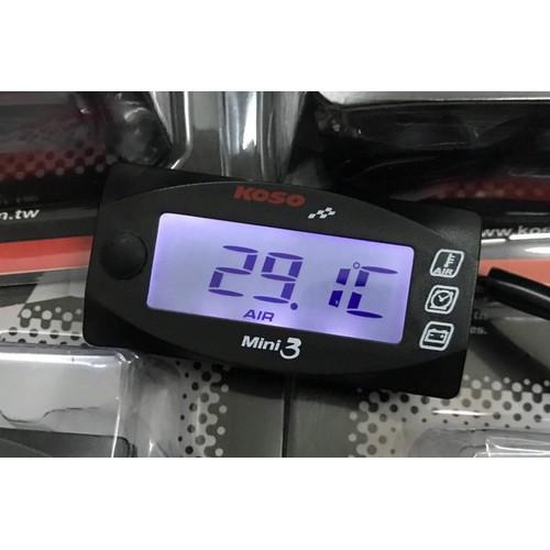 Đồng hồ KOSO mini 3 -Báo Giờ- Vôn-Nhiệt độ - 10740974 , 10961953 , 15_10961953 , 390000 , Dong-ho-KOSO-mini-3-Bao-Gio-Von-Nhiet-do-15_10961953 , sendo.vn , Đồng hồ KOSO mini 3 -Báo Giờ- Vôn-Nhiệt độ