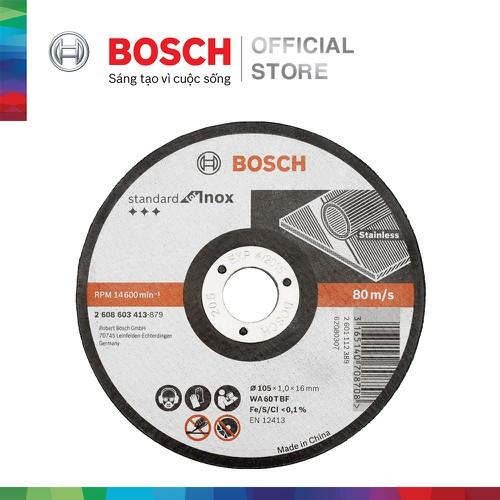 Đá cắt Bosch 105x1.0x16mm Inox - 10741078 , 10962272 , 15_10962272 , 30000 , Da-cat-Bosch-105x1.0x16mm-Inox-15_10962272 , sendo.vn , Đá cắt Bosch 105x1.0x16mm Inox