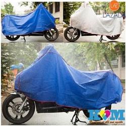 [ CHỐNG NẮNG MƯA TUYỆT ĐỐI ] COMBO 2 tấm bạt phủ xe máy - áo trùm xe máy cao cấp - SKT232