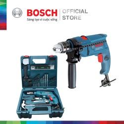 Máy khoan động lực Bosch GSB 550 MP SET kèm bộ phụ kiện 19 chi tiết