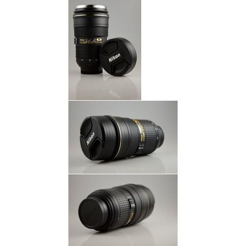 Ly lens Zoom Nikon 24-70mm - Lớp lót Inox - Zoomable Nikon Lens Mug