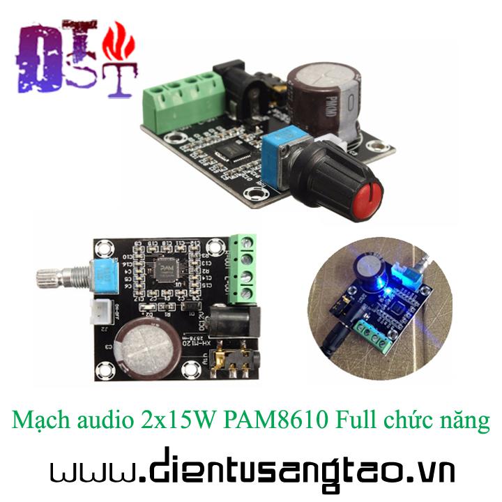 Mạch khuếch đại âm thanh PAM8610 15Wx2