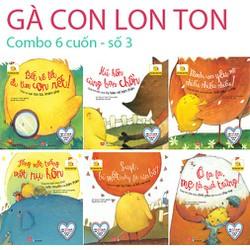 Sách - GÀ CON LON TON Combo bộ 6 cuốn V3