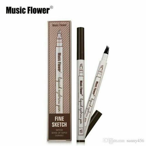 CHÌ KẺ LÔNG MÀY PHẨY SỢI 4D MUSIC FLOWER