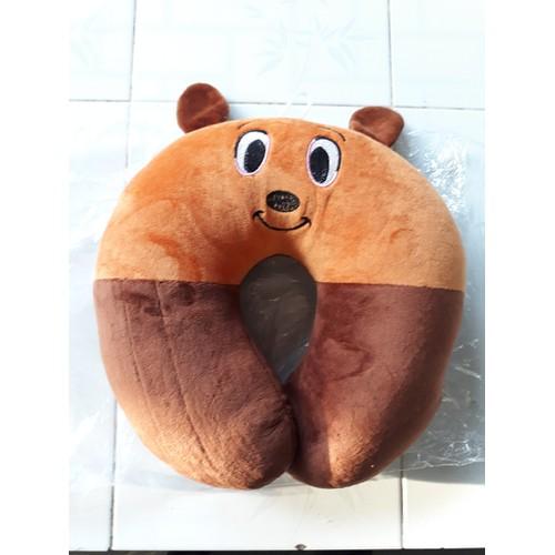 Gối kê cổ hình gấu