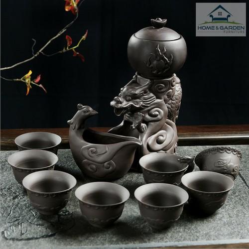 Bộ ấm trà Dragon cao cấp sang trọng - Home and Garden