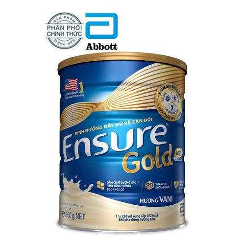 {Siêu sales} sữa bột ensure gold vani 850g date 2021 - cho kiểm hàng