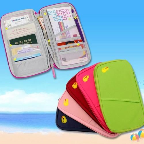 Túi xếp gọn dạng ví đựng Passport, Visa, Master Card, ATM