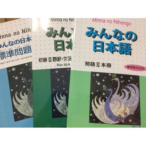 Bộ sách tiếng Nhật Minna no Nihongo II - Trình độ sơ cấp N4 bộ 3 cuốn - 4477588 , 11444229 , 15_11444229 , 102500 , Bo-sach-tieng-Nhat-Minna-no-Nihongo-II-Trinh-do-so-cap-N4-bo-3-cuon-15_11444229 , sendo.vn , Bộ sách tiếng Nhật Minna no Nihongo II - Trình độ sơ cấp N4 bộ 3 cuốn