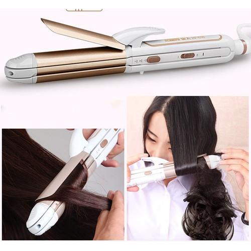 Máy kẹp tóc đa năng 3in1 chính hãng Kemei - 5736096 , 12191022 , 15_12191022 , 220000 , May-kep-toc-da-nang-3in1-chinh-hang-Kemei-15_12191022 , sendo.vn , Máy kẹp tóc đa năng 3in1 chính hãng Kemei