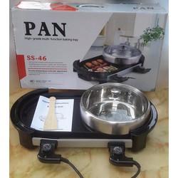 Bếp Lẩu Nướng PAN SS46 - 1800W