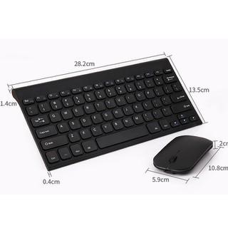 Bộ phím chuột không dây - Bàn phím chuột không dây - bộ bàn phím không day kèm chuột- bàn phím bluetooth- bàn phím máy tính - RE0206-bàn phím thumbnail