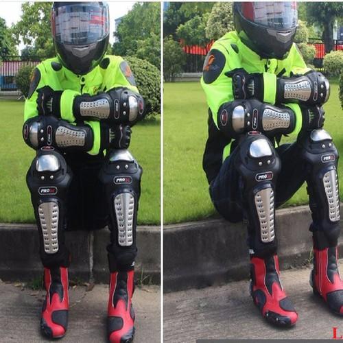 Bộ giáp Inox chính hãng ProBiker cực chắc bảo vệ cơ thể