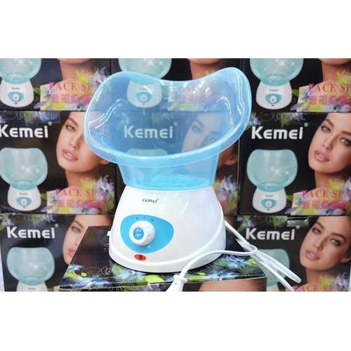 Máy xông mặt tinh dầu massage chính hãng Kemei