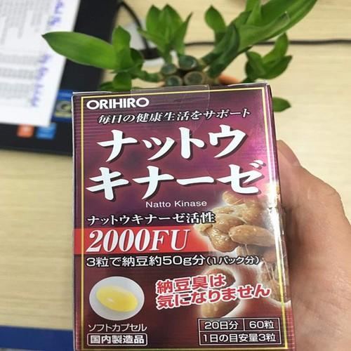 Viên uống chống đột quỵ 2000FU Orihiro Nhật Bản
