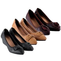 Giày nữ da bò 5 phân nhiều màu EH7941-42-43 -...