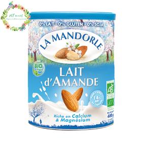 Sữa bột hạnh nhân hữu cơ La Mandorle 400g - Sữa bột hạnh nhân 400gr