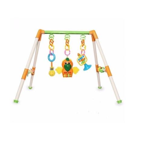 Bộ đồ chơi giá đỡ treo cho em bé tập nhận biết màu sắc
