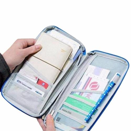 Túi xếp gọn dạng ví đựng Passport, Visa, Master Card, ATM - 5262766 , 11593696 , 15_11593696 , 108000 , Tui-xep-gon-dang-vi-dung-Passport-Visa-Master-Card-ATM-15_11593696 , sendo.vn , Túi xếp gọn dạng ví đựng Passport, Visa, Master Card, ATM