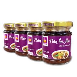 Combo 4 hũ gia vị nấu bún bò - 4 hũ GIA VỊ hoàn chỉnh YesHue dạng dung dịch cô đặc siêu cho bếp