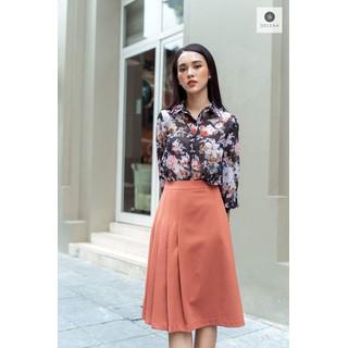 De Leah - Chân váy A xếp li lệch - Thời trang thiết kế - Z1826041 thumbnail