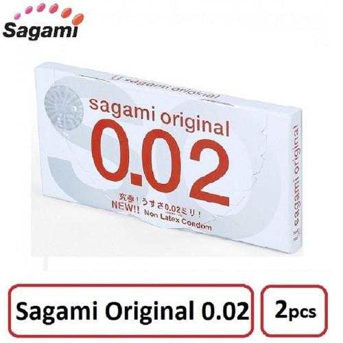 Bao Cao Su Sagami Original 0.02 Hộp 2 Bao