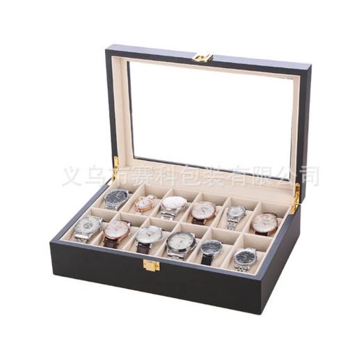 Hộp đựng đồng hồ 12 ngăn gỗ đen - 5154906 , 11446771 , 15_11446771 , 790000 , Hop-dung-dong-ho-12-ngan-go-den-15_11446771 , sendo.vn , Hộp đựng đồng hồ 12 ngăn gỗ đen