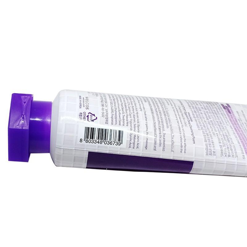 Sữa Rửa Mặt Cà Tím Kwailnara Eggplant Deep Clearing Foam 120ml 3